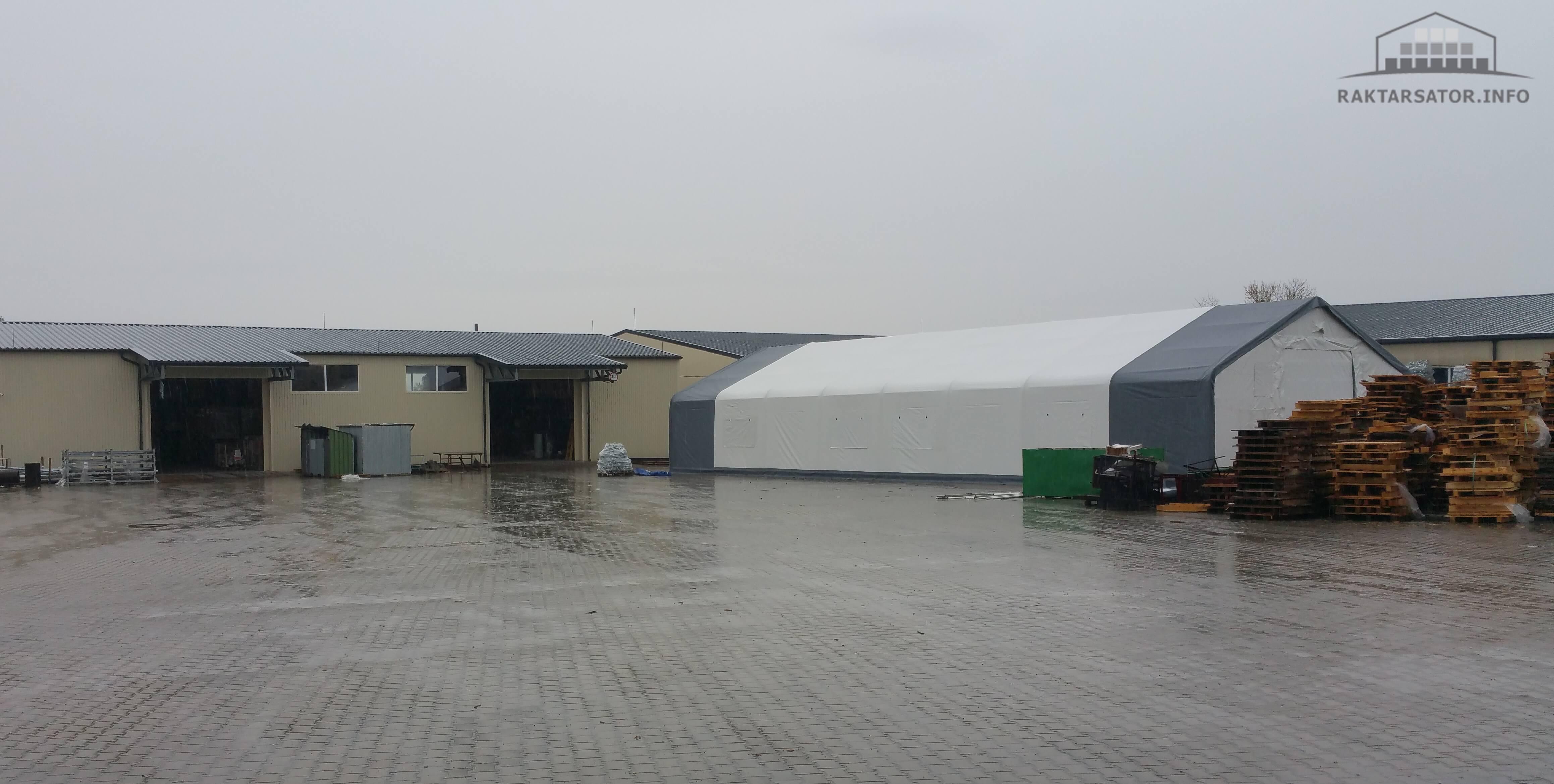 Kisbér Bádog Center-  Ászár 10 x 24,4 x 2,8 m ECO