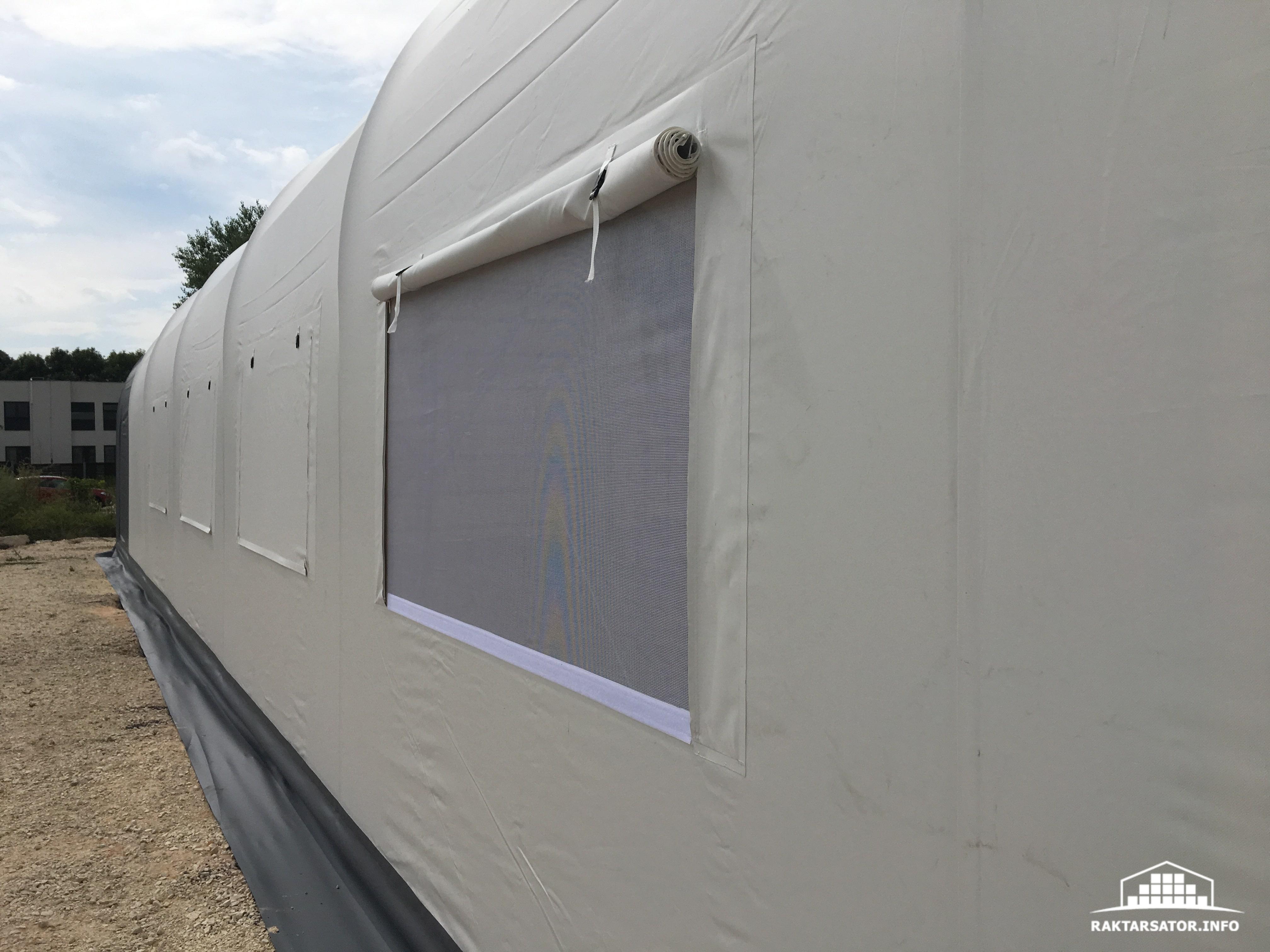 Bicske 12,2 x 24,4 x 3 m ECO ablaknyílás